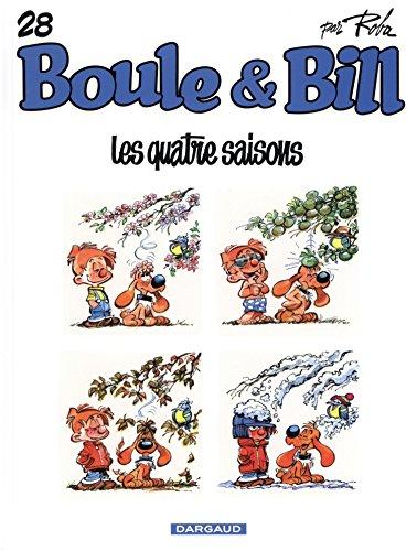 Boule & Bill, Tome 28 : Les quatre saisons