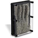 HC-Handel 910785 3D Nagelspiel Pinpressions Pin Pressions Kunststoff/Metall 13 x 18 cm schwarz/silber