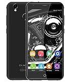 OUKITEL K7000 - ultra sottile da 5 pollici Android 6.0 4G smartphone 2GB di RAM + 16GB con anima 1,3 GHz quad doppia SIM identificazione delle impronte digitali Telaio in lega di alluminio - grigio