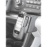 KUDA Telefonkonsole LHD für: Honda CR-Z 2010 / Mobilia/Kunstleder schwarz