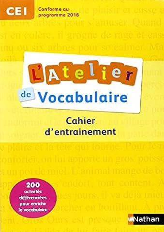 L'Atelier de Vocabulaire