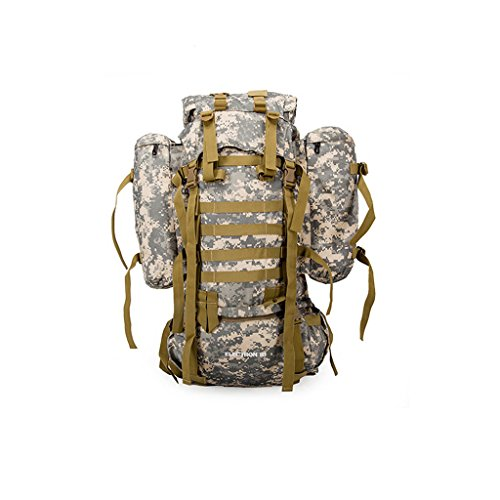 Tarnung Tarnung Multifunktionale Outdoor Outdoor Rucksack Tasche abnehmbare Außen Paket Bergtaschen Reise Rucksack Camping ACU