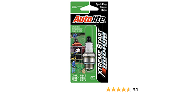 Autolite Xst458dp Xtreme Start Iridium Lawn Garden Spark Plug Auto