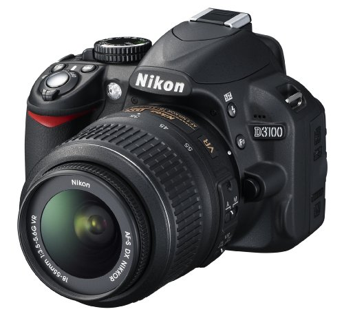 Nikon D3100 SLR-Digitalkamera (14 Megapixel - 3
