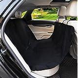 Perro Asiento de coche Coverd impermeable Hamaca estilo mascota banco asiento cojín para camiones SUV y todo tipo de vehículos), color negro