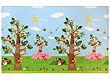 Baby Care Birds in the Trees Babymatte | Spielmatte | Kinderteppich | 210 x 140 cm …