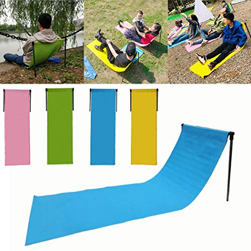 Camping Stuhl Dauerhaftes Garten Stuhl aufblasbare Sofa Matte faltet ()