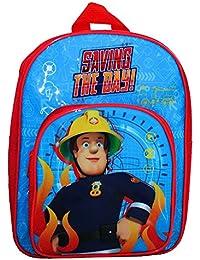 Sam Le Pompier - Fireman Sam - Enfants Sac à dos - Saving the Day 31x24x11cm