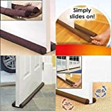 #2: Efficient Twin Draft Guard - Door Bottom Energy Saving Under Door Draft Stopper Doorway Clean