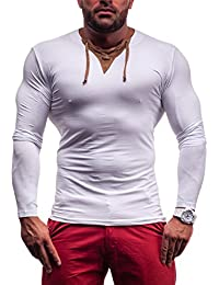 RONIDA - T-shirt - Manches longues - RONIDA 4663 - Homme - XXL Blanc [1A1]