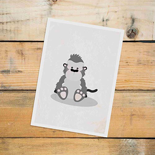 Gorilla Post (Postkarte Dreamchen Kinderzimmer Deko Gorilla)