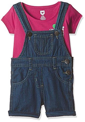 612 League Baby Girls' Clothing Set (ILW17I75004_Blue_18-24 months)