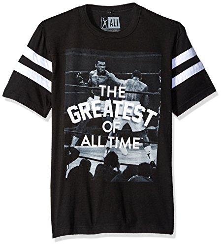 Muhammad Ali Herren T-Shirt Schwarz / Weiß