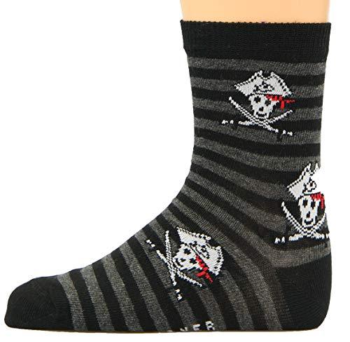 Max Lindner Socken Pirat schwarz Größe 27, 28, 29, 30-5erPack