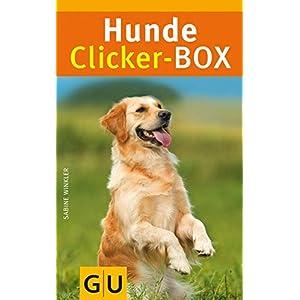 Hunde-Clicker-Box: 36 Trainingskarten, Clicker und Begleitbuch (GU Tier-Box)