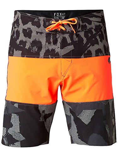 Fox Short de bain pour garçon Camino Stacker Orange Taille 36