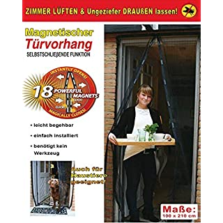 Magnetic Flying Curtain 1m x 2,1m (2-geteilt) Set of 2