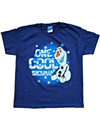 Disney frozen T-shirt 5 to 10 Years Olaf T-shirt OLAF ONE COOL SNOWMAN