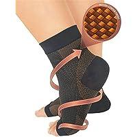 Kompressionsstrümpfe (PAAR) - Fersensporn Bandage für Schmerzlinderung bei Plantarfasziitis, Knöchelschmerzen... preisvergleich bei billige-tabletten.eu