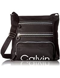 Calvin Klein Calvin Kelin Athleisure Nylon Organizational Crossbody