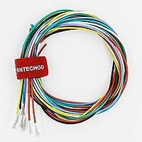 Bntechgo 26gauge silicone Wire High temperature resistant Soft and flexible 26AWG silicone Wire 30fili di filo di rame