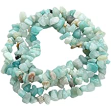 7021f9a5e107 Chytaii Cadena de Piedras Natural Irregular Precioso Accesorio para Collar  Pulsera Artesanal Cuentas Perforadas