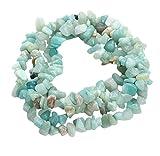 Chytaii Cadena de Piedras Natural Irregular Precioso Accesorio para Collar Pulsera Artesanal Cuentas Perforadas