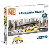 Clementoni - Puzzle disney panorama 1000 piezas minions in new york (39373)