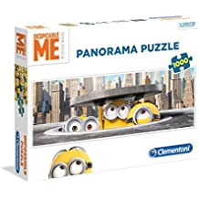 Clementoni - Puzzle disney panorama 1000 piezas minions in new york (39373)