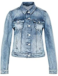 Hallhuber Light-Washed Denim Jacket