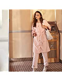 OLLIUGE Calidad Ropa De Dormir Batas Mujer Conjunto De Pijamas Señoras Camisones Ropa De Noche Invierno