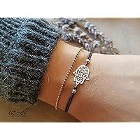 Armband Fatimas Hand mit Kugelke