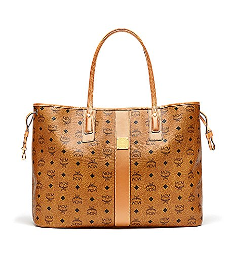 MCM Damen Reversible Shopper Project Large Cognac (Reversible Shopper)