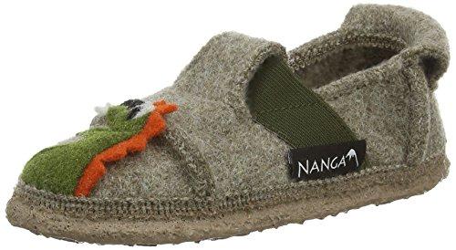 Nanga Drache Jungen Flache Hausschuhe Beige (Natur 85)