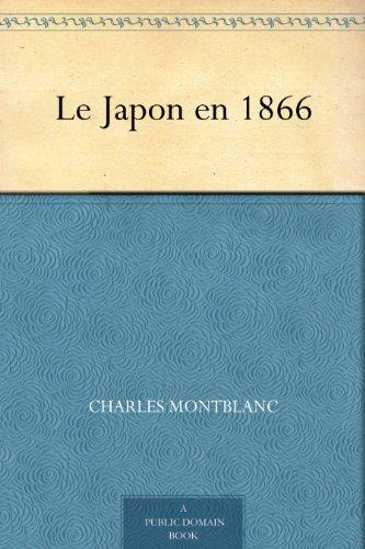 Couverture du livre Le Japon en 1866