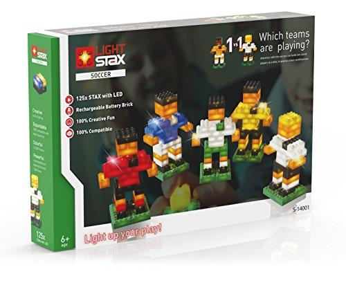 Light Stax S-14001 - Soccer Characters, Baukästen