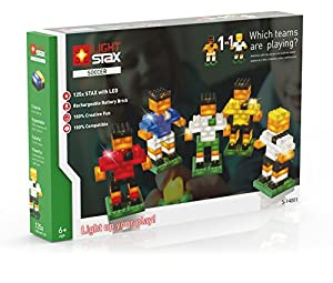 Light STAX S de 14001-Soccer Characters, diseño Cajas