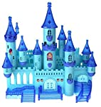 Wonder SG29004 Castle Battery Operated Toy Castle Dollhouse w/Light up Effects, Music, Doll Princess Figure, Furniture...