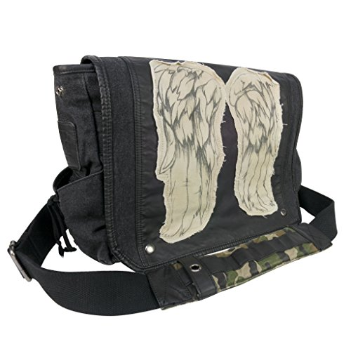 The Walking Dead Daryl Dixon - Wings Messenger Bag schwarz (Deluxe Messenger Bag)