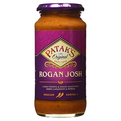 Patak Ist Mittelscharf Rogan Josh Sauce (450G)