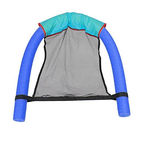 Preisvergleich Produktbild Barbarer Schwimmender Stuhl Schwimmbad Sitzplätze Pool Schwimmender Bett Stuhl Pool Nudel Stuhl (Blau)