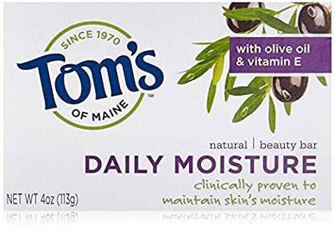 Tom's of Maine Natural Beauty Bar - Daily Moisture Bath Soaps 113 g by Tom's of Maine