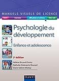 Manuel visuel de psychologie du développement - 2ed. - Enfance et adolescence