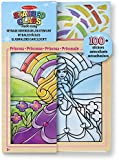 Melissa & Doug Stained Glass Made Easy Activity Kit: Princess - 100+ Stickers, Wooden Frame