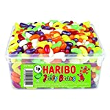 Haribo Jelly Beans Tub Retro Kids Sweets - 600 der