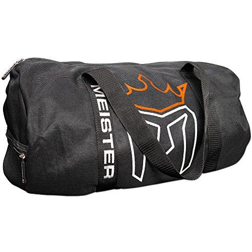 Meister atmungsaktive Sporttasche, Netzstoff Schwarz
