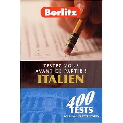 Qcm Exercices Italien Berlitz
