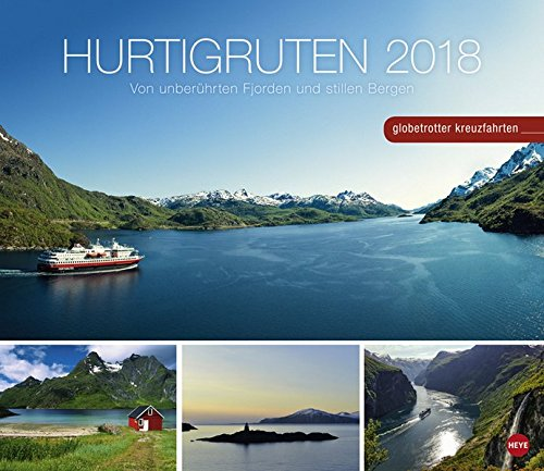 Preisvergleich Produktbild Hurtigruten Globetrotter Kreuzfahrten - Kalender 2018