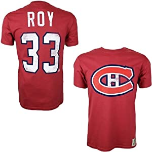 Old Time OTH Montreal Canadiens Patrick Roy #33 Alumni Eishockey NHL T-Shirt