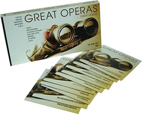 Various Artists - Great Operas-Great Voices (10 DVDs / PAL)